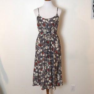 NWOT Lush floral dress size medium
